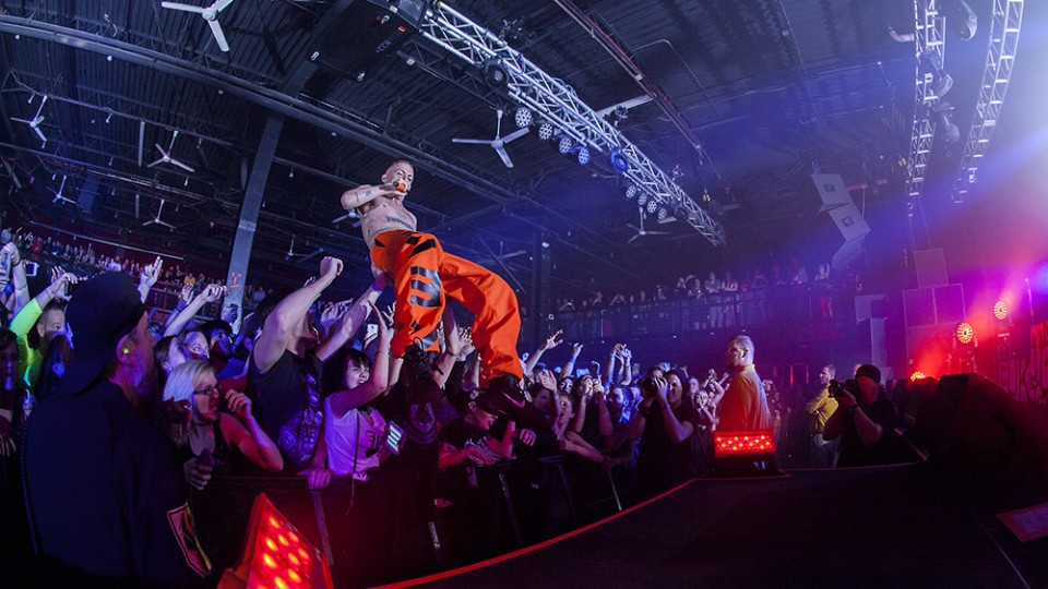Die Antwoord at the Ritz 20150424