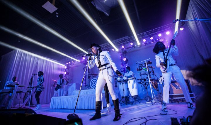 Janelle Monae in concert at The Ritz
