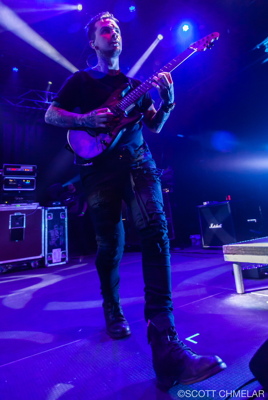 All That Remains at The Ritz Raleigh NC February 17, 2019