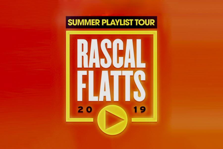 Rascal Flatts Summer Playlist Tour At Walnut Creek Nc June 28