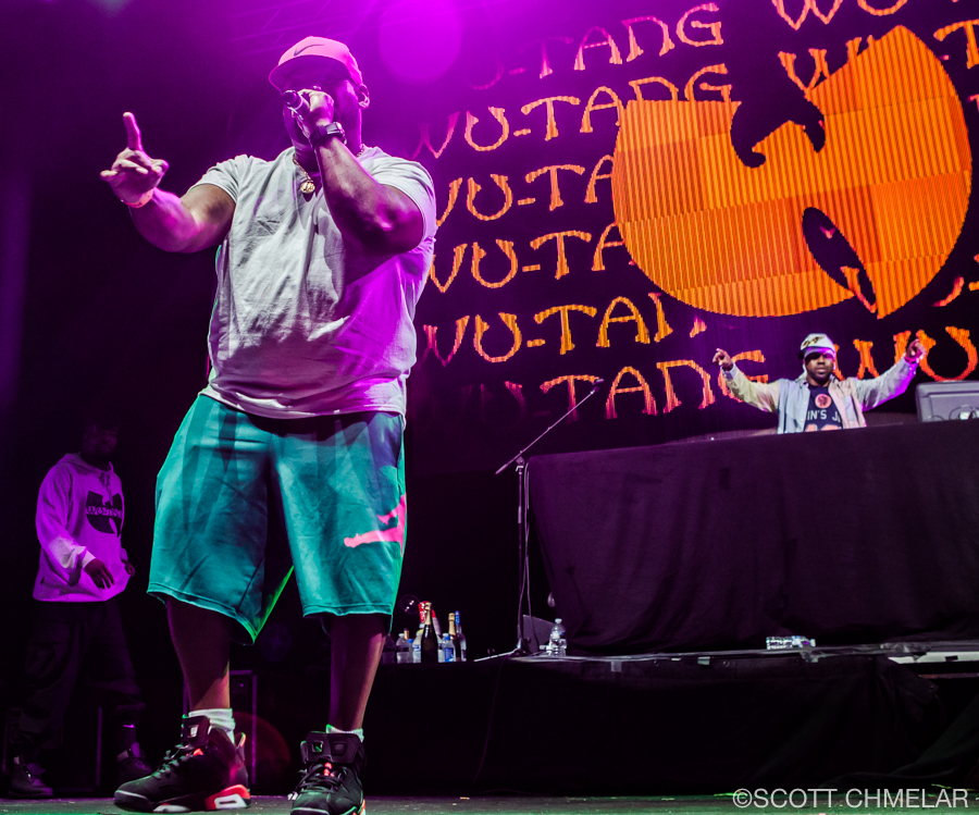 Wu-Tang Clan perform at Red Hat Amphitheater in Raleigh, NC June 8, 2019. Photography by Scott Chmelar