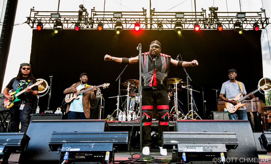 St. Paul and the Broken Bones with Toots & The Maytals playing Red Hat Amphitheater in Raleigh, NC June 1, 2019. Photography by Scott Chmelar
