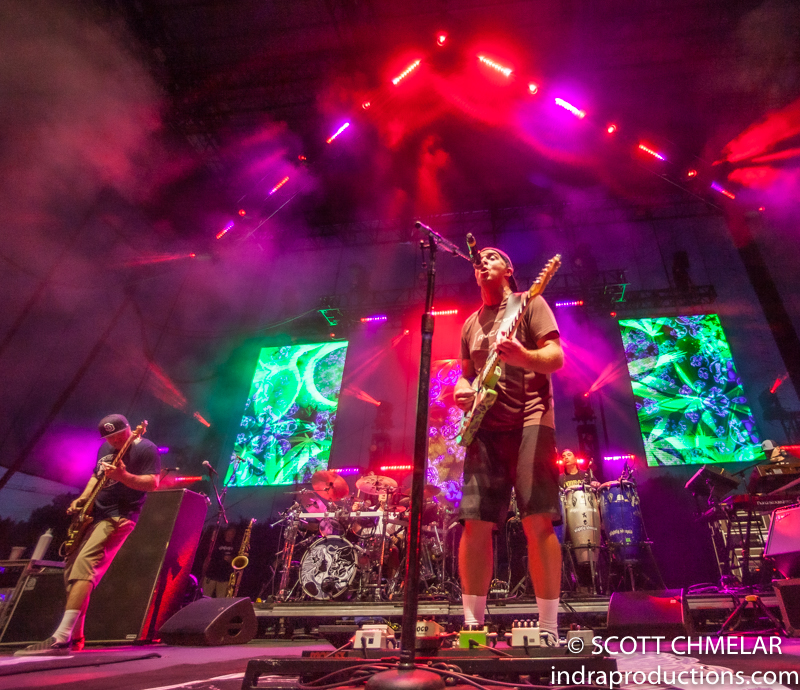 Slightly Stoopid at Red Hat Amphitheater in Raleigh. NC