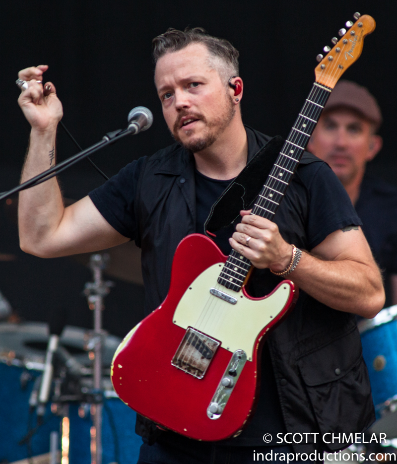 Father John Misty & Jason Isbell and the 400 Unit at Koka Booth Amphitheater in Cary, NC June 25, 2019. Photography by Scott Chmelar
