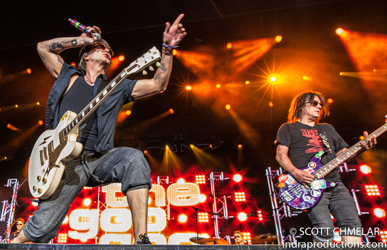 The Goo Goo Dolls perform at the Coastal Credit Union Music Park at Walnut Creek in Raleigh NC July 13, 2019. Photos by Scott Chmelar