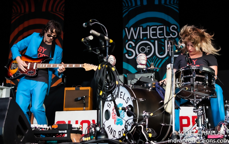 """""""Wheels of Soul 2019"""" with Shovels & Rope play the Coastal Credit Union Music Park at Walnut Creek in Raleigh NC July 9, 2019. Photos by Scott Chmelar"""