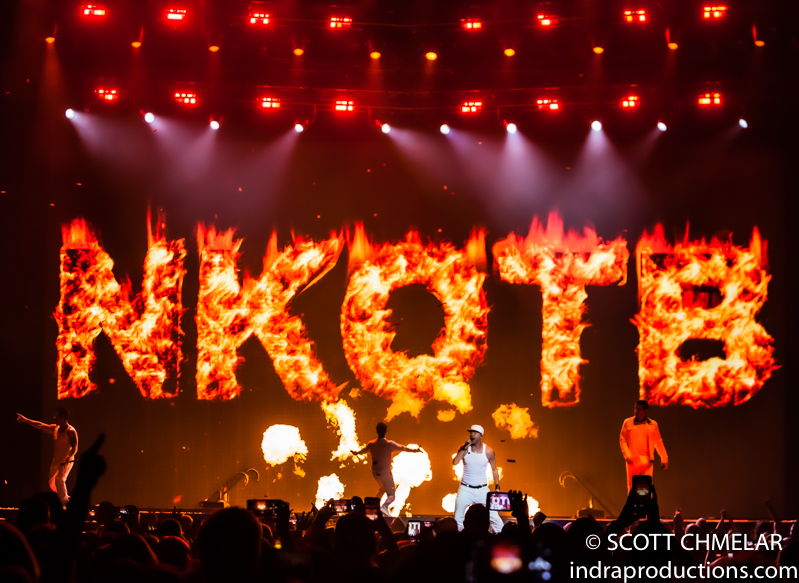 NKOTB Mixtape Tour at PNC Arena in Raleigh, NC July 7, 2019. Photos by Scott Chmelar