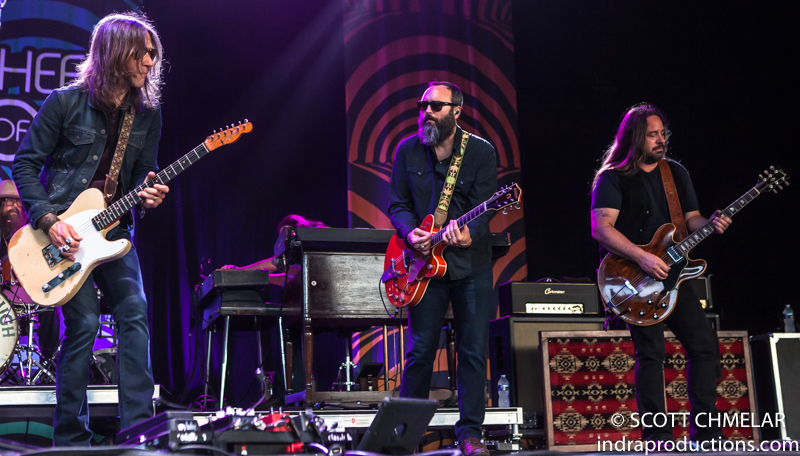 """""""Wheels of Soul 2019"""" with Blackberry Smoke play the Coastal Credit Union Music Park at Walnut Creek in Raleigh NC July 9, 2019. Photos by Scott Chmelar"""