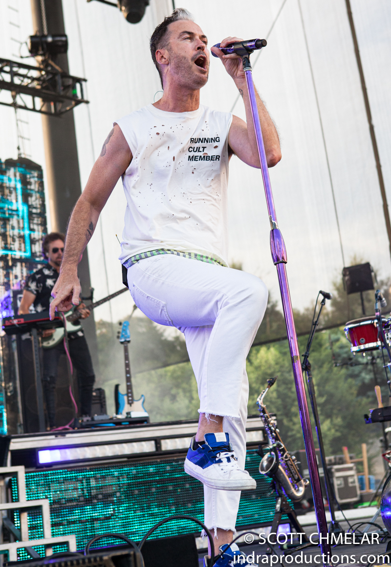 Fitz and the Tantrums perform at Red Hat Amphitheater in Raleigh NC July 16, 2019. Photos by Scott Chmelar