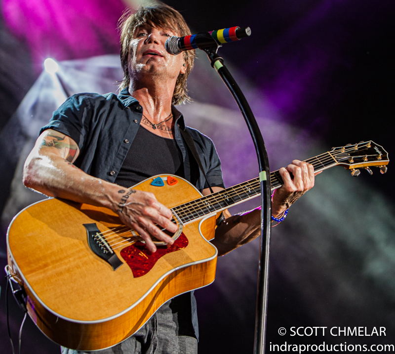 The Goo Goo Dolls perform at the Coastal Credit Union Music Park at Walnut Creek in Raleigh NC July 13, 2019. Photos by Scott Chmelar
