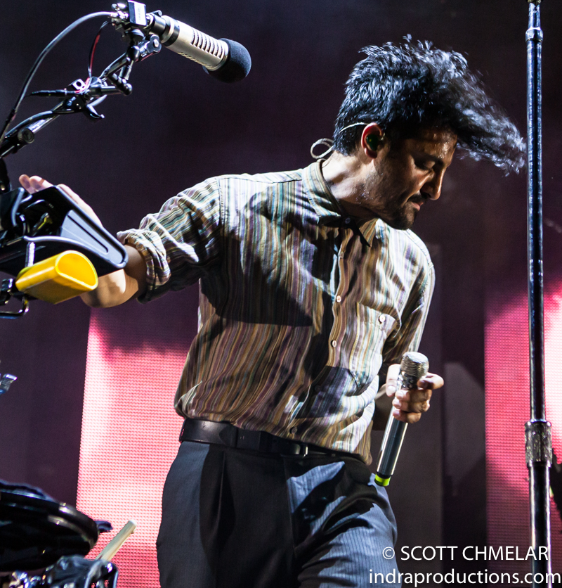 Young The Giant performs at Red Hat Amphitheater in Raleigh NC July 16, 2019. Photos by Scott Chmelar