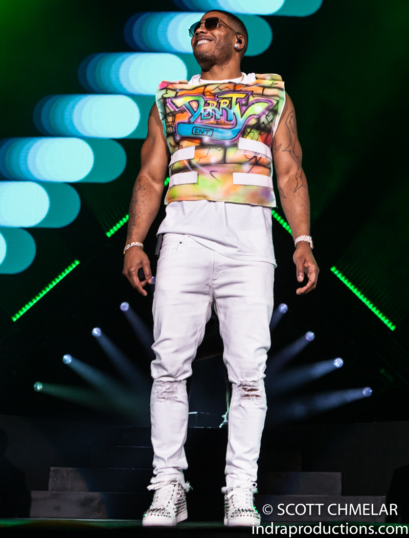 Nelly, TLC and Flo Rida perform at the Coastal Credit Union Music Park at Walnut Creek in Raleigh NC July 27, 2019. Photos by Scott Chmelar for INDRA Magazine