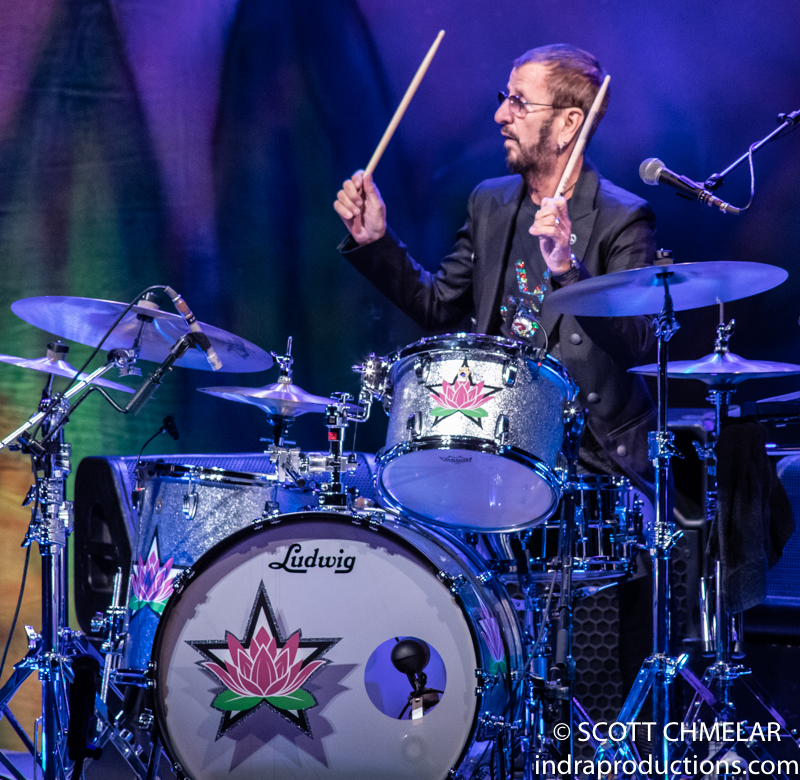 Ringo Starr And His All Starr Band perform at DPAC in Durham NC August 6, 2019. Photos by Scott Chmelar for INDRA Magazine