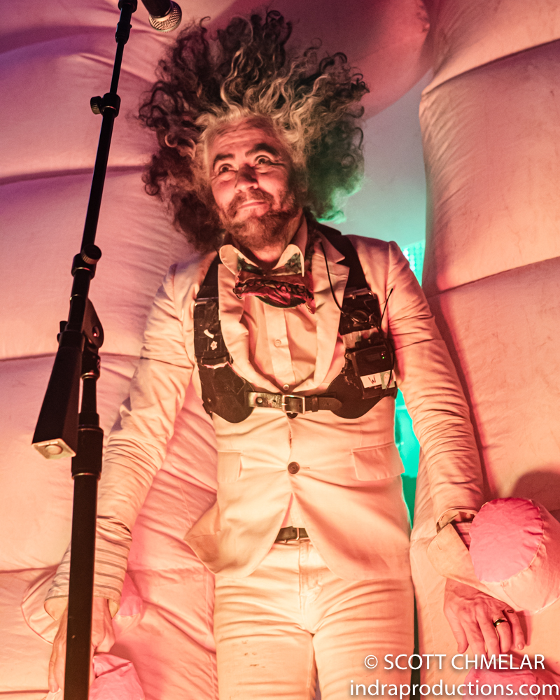The Flaming Lips perform at Red Hat Amphitheater in Raleigh NC August 7, 2019. Photos by Scott Chmelar for INDRA Magazine