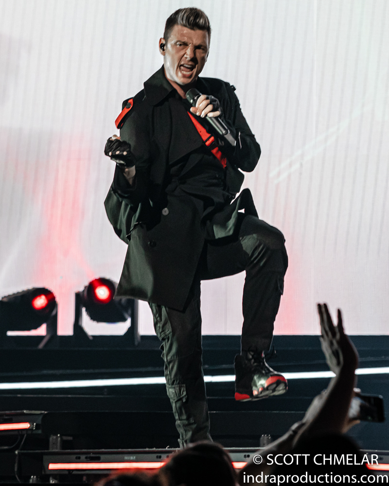 The Backstreet Boys DNA World Tour and Baylee Littrell perform at PNC in Raleigh NC. August 20, 2019. Photos by Scott Chmelar for INDRA Magazine