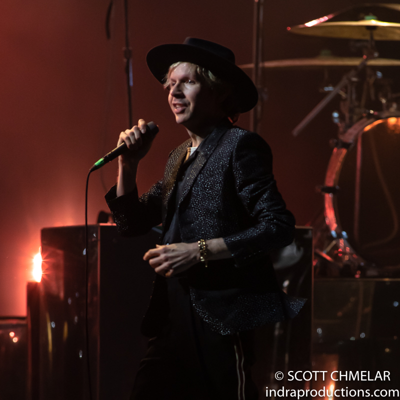 Beck, Cage The Elephant, Spoon and Sunflower Bean perform at the Coastal Credit Union Music Park at Walnut Creek in Raleigh NC. August 24, 2019. Photos by Scott Chmelar for INDRA Magazine