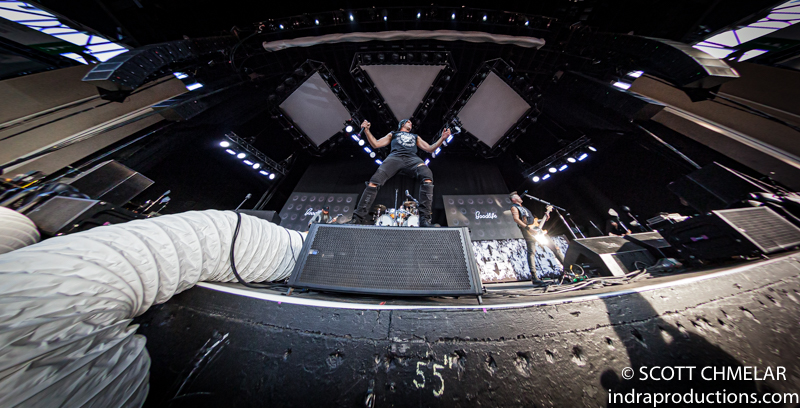 Breaking Benjamin, Chevelle, Three Days Grace, Dorothy and Diamante perform at the Coastal Credit Union Music Park at Walnut Creek in Raleigh NC. August 18, 2019. Photos by Scott Chmelar for INDRA Magazine