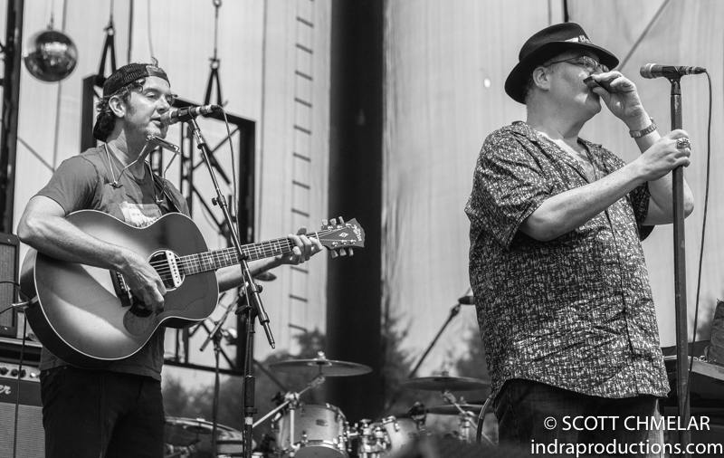 moe., Blues Traveler and G. Love perform at Red Hat Amphitheater in Raleigh NC August 4, 2019. Photos by Scott Chmelar for INDRA Magazine
