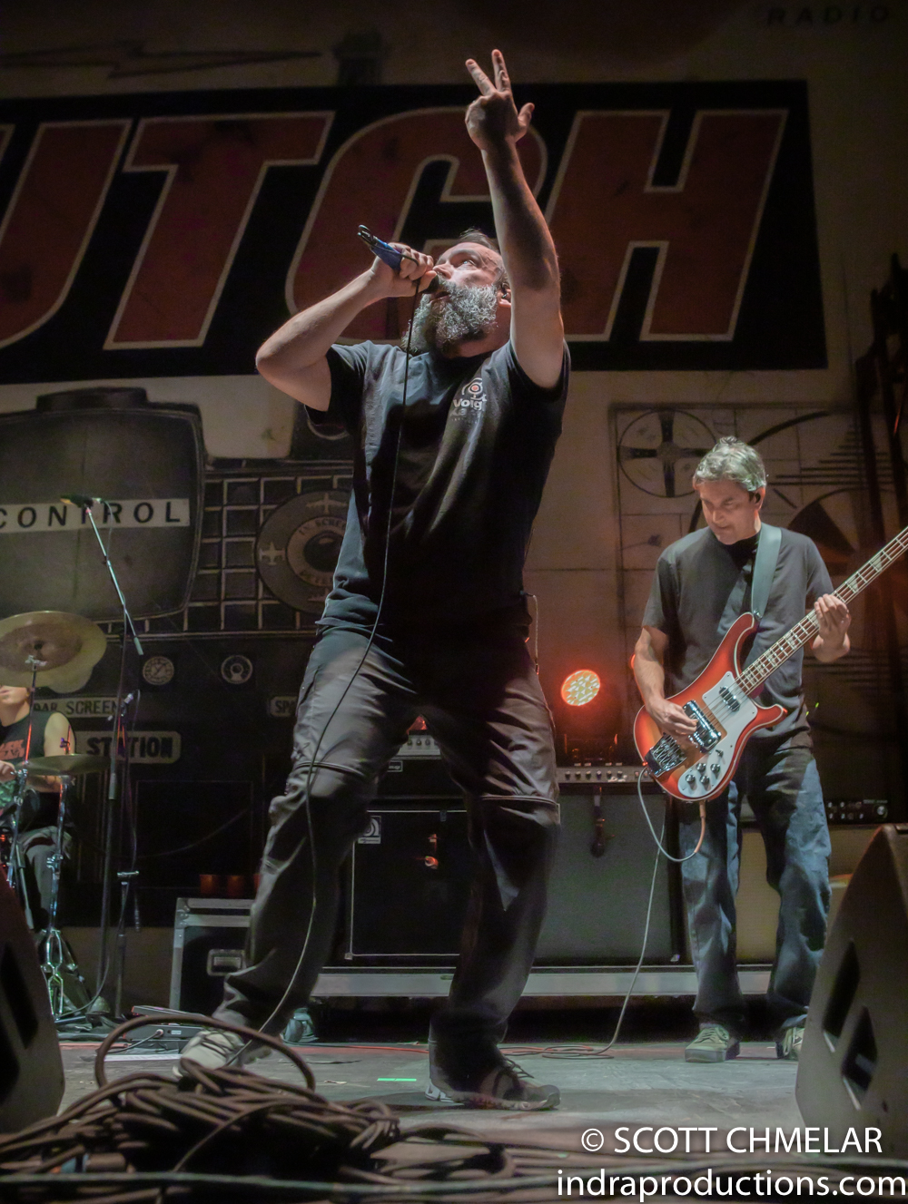 Clutch - AMERICAN TOUR FALL 2019 at Red Hat Amphitheater in Raleigh NC September 24, 2019. Photos by Scott Chmelar for INDRA Magazine.
