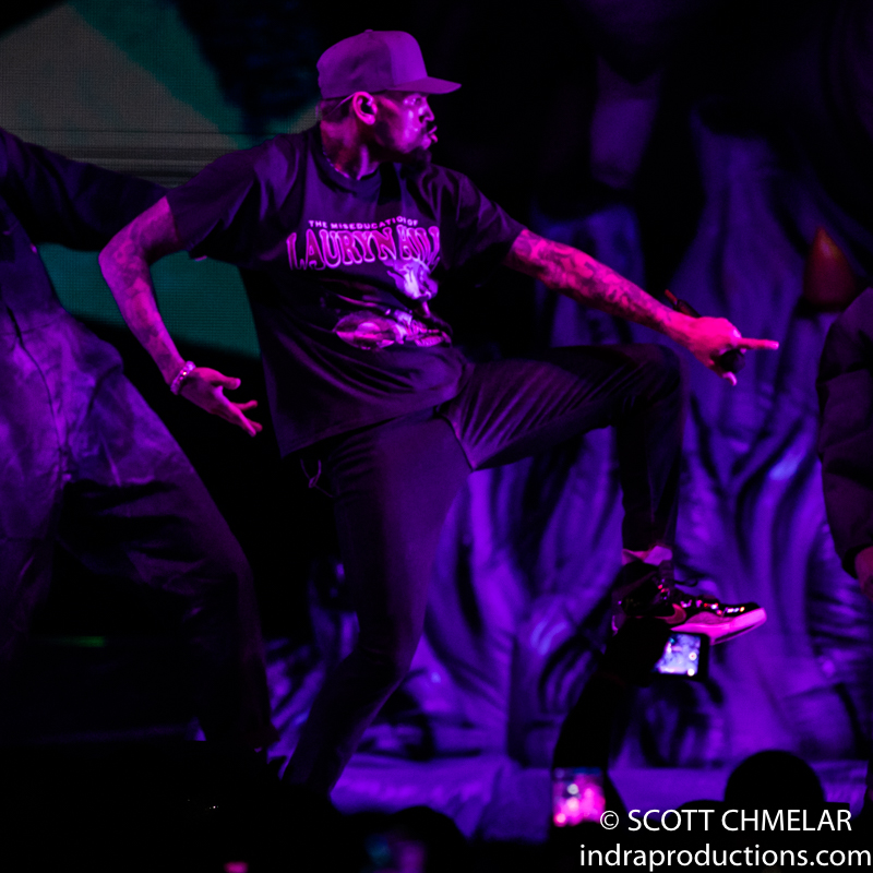 Chris Brown, Tory Lanez, Ty Dolla $ign, Joyner Lucas, and Yella Beezy perform at PNC Arena in Raleigh NC. September 6, 2019. Photos by Scott Chmelar for INDRA Magazine