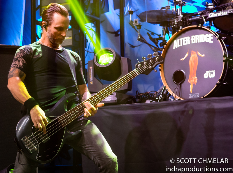 Alter Bridge - WALK THE SKY TOUR with 10 Years and Dirty Honey at The Ritz in Raleigh NC. September 19, 2019. Photos by Scott Chmelar for INDRA Magazine