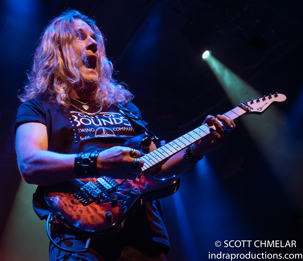Tesla - The SHOCK Tour with Morano and Bad Marriage at The Ritz in Raleigh NC September 20, 2019. Photos by Scott Chmelar for INDRA Magazine.