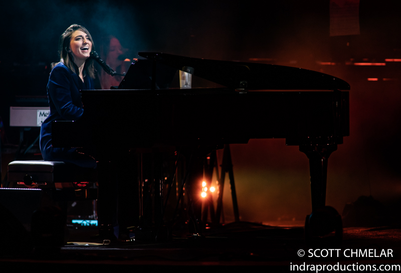 Sara Bareilles : AMIDST THE CHAOS TOUR with Emily King at Red Hat Amphitheater in Raleigh NC. October 8, 2019. Photos by Scott Chmelar for INDRA Magazine