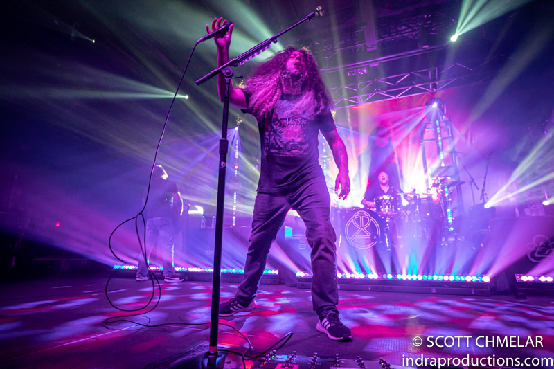 Coheed and Cambria, The Contortionist and Astronoid at The Ritz in Raleigh NC. October 15, 2019. Photos by Scott Chmelar for INDRA Magazine