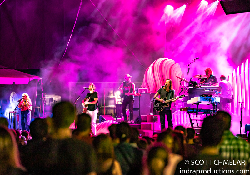 The Head and the Heart - the LIVING MIRAGE tour at Red Hat Amphitheater in Raleigh NC. October 1, 2019. Photos by Scott Chmelar for INDRA Magazine