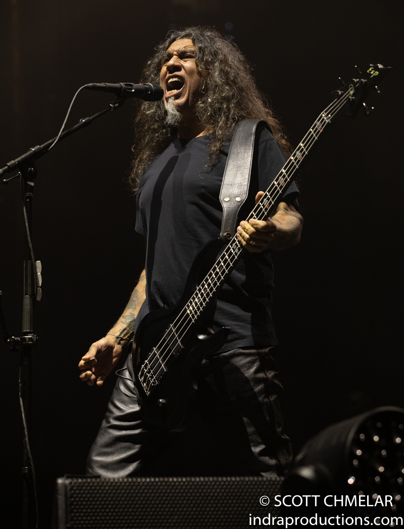 """Slayer """"The Final Campaign"""" tour with Primus, Ministry and Phil Anselmo & The Illegals at PNC in Raleigh NC. November 3, 2019. Photos by Scott Chmelar for INDRA Magazine"""