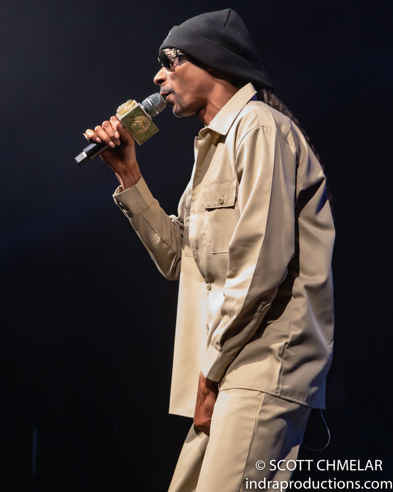 "Snoop Dogg ""I Wanna Thank Me Tour"" with Petey Pabloe, OT Genasis, Trae The Truth, RJMrLA and Triggs at The Ritz in Raleigh, NC Dec. 19, 2019. (Photos by Scott Chmelar for INDRA Magazine)"