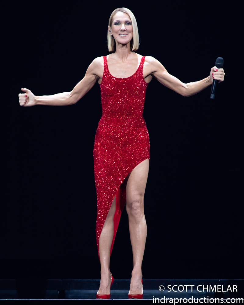 "Celine Dion ""Courage World Tour"" at PNC in Raleigh, NC Feb. 11, 2020. (Photos by Scott Chmelar for INDRA Magazine)"