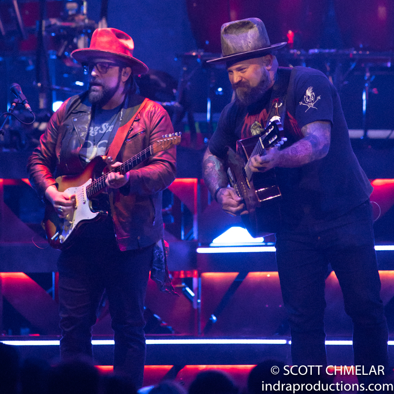 "Zac Brown Band ""The Owl Tour"" with special guests Amos Lee, Poo Bear and Sasha Sirota at PNC Arena in Raleigh, NC March 4, 2020. (Photos by Scott Chmelar for INDRA Magazine)"
